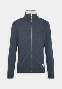 WITH CUTLINE - Zip-up sweatshirt - sky captain blue