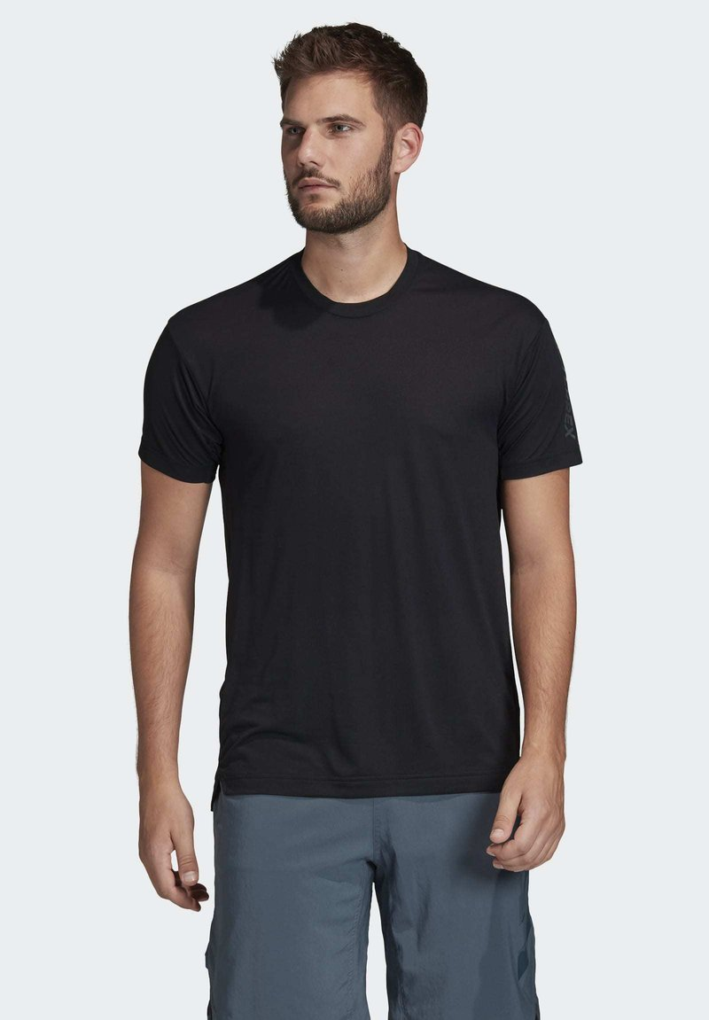 chocolate probable estafa  adidas Performance TERREX AGRAVIC TRAIL RUNNING T-SHIRT - Camiseta de  deporte - black/negro - Zalando.es