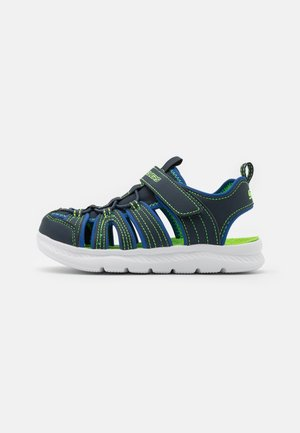 C-FLEX 2.0 - Walking sandals - navy/royal/ lime