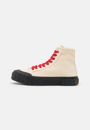 PALM CORE UNISEX - High-top trainers - oatmeal/black
