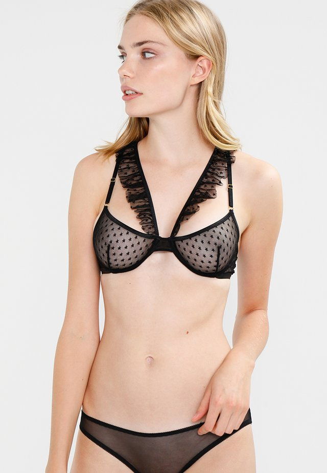 FLORE - Underwired bra - black