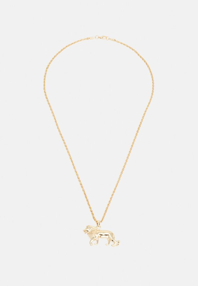 LION NECKLACE - Halsband - gold-coloured