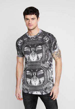 NEW YORK MIRROR - T-shirt med print - black/white