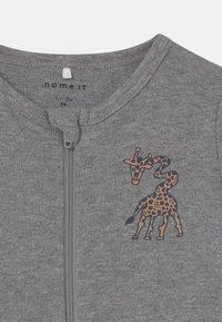 Name it - NBMNIGHTSUIT 2 PACK - Pyjama - grey melange - 3