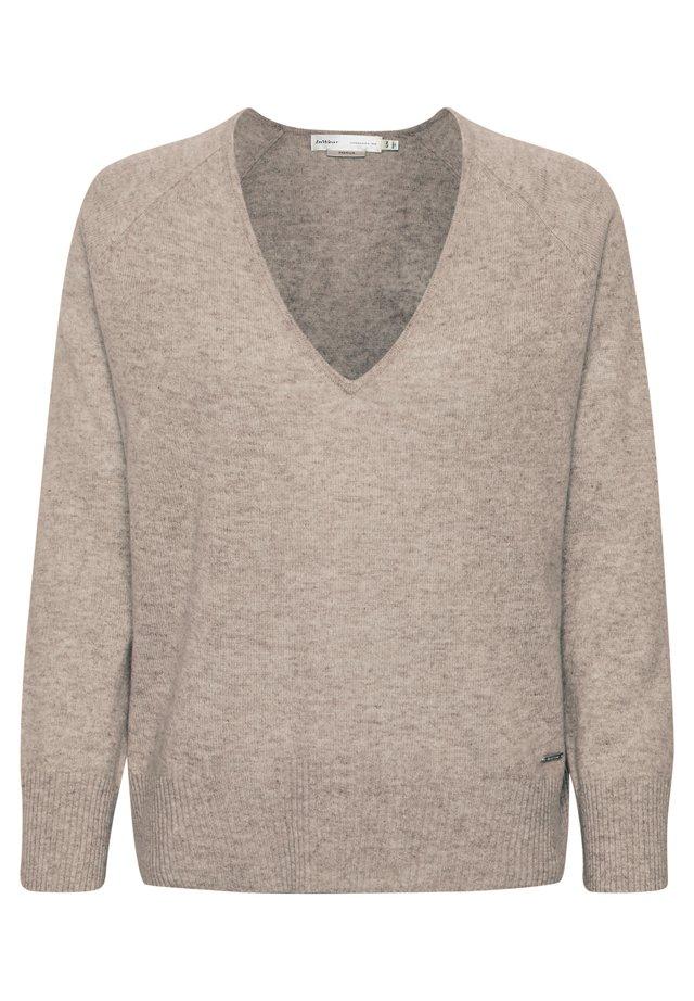 LUKKA  - Pullover - beige melange