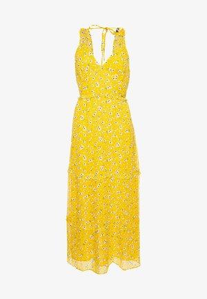 Maxi dress - yellow floral