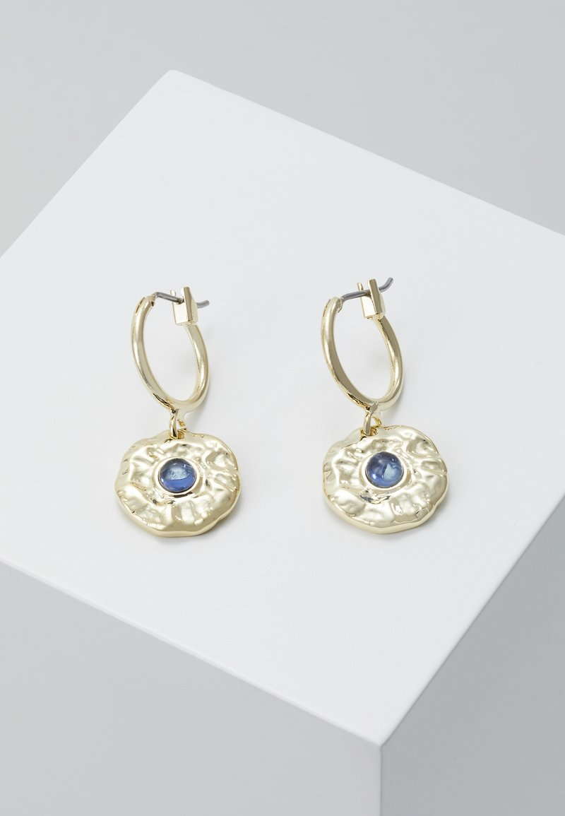 Leslii - Earrings - gold-coloured/blue