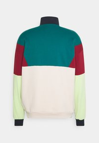 Kaotiko - CREW ZIP UNISEX - Sweatshirt - green - 1