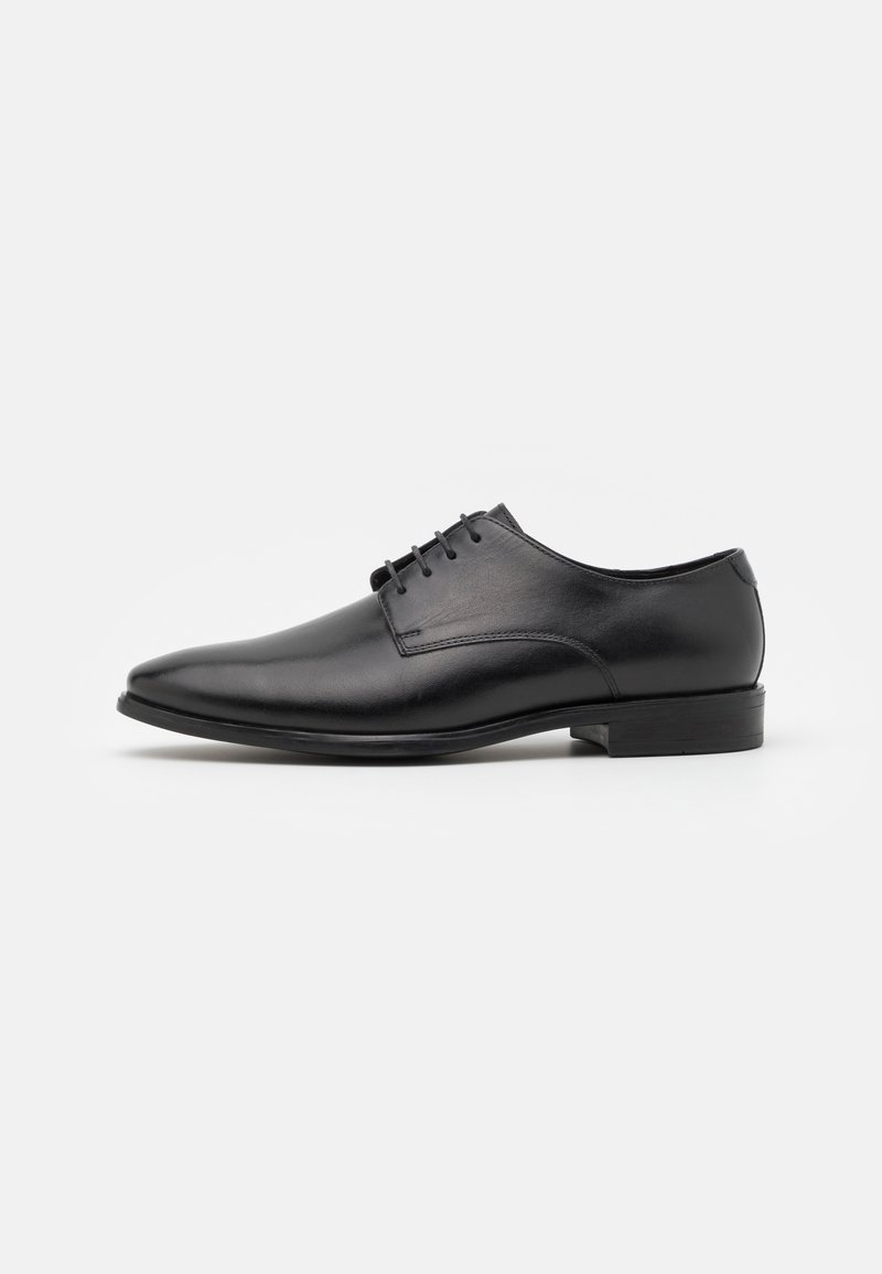 Zign - LEATHER - Veterschoenen - black