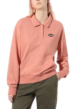 WM DOME GROWN POLO FLEECE - Strikpullover /Striktrøjer - rose dawn