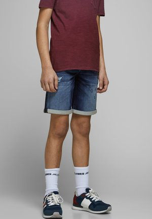 JEANSSHORTS JUNGS - Denim shorts - blue denim