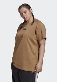 adidas Originals - Print T-shirt - cardboard - 0