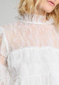 By Malina - RACHEL BLOUSE - Blouse - white - 4