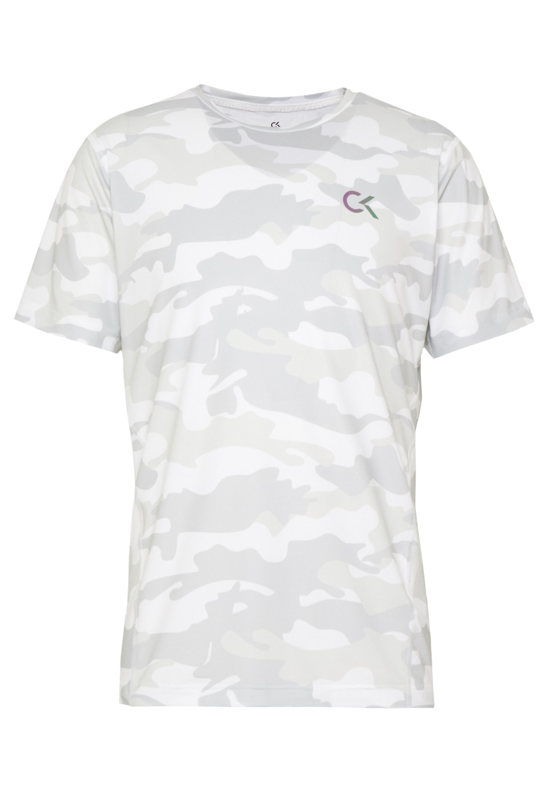Calvin Klein Performance PERFECT WORKOUT - T-shirt imprimé - white