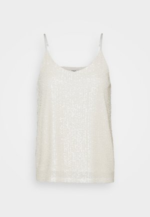 JDYSEA SEQUINS SINGLET - Top - marshmallow