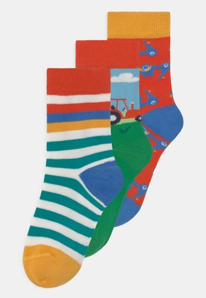 ROCK 3 PACK UNISEX - Socks - orange