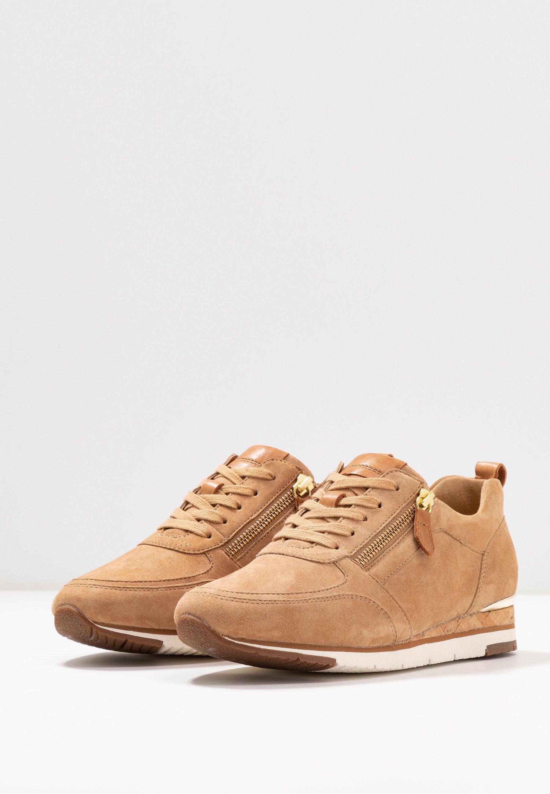 Gabor Sneaker low caramel/cognac/beige