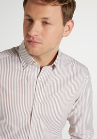Eterna - SLIM FIT - Shirt - beige weiss - 2