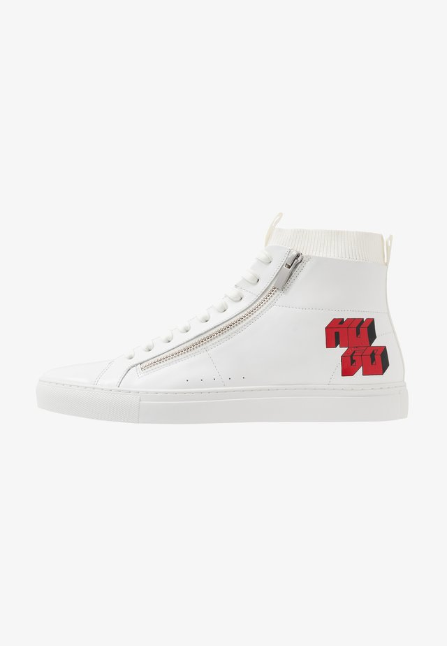 FUTURISM - High-top trainers - white