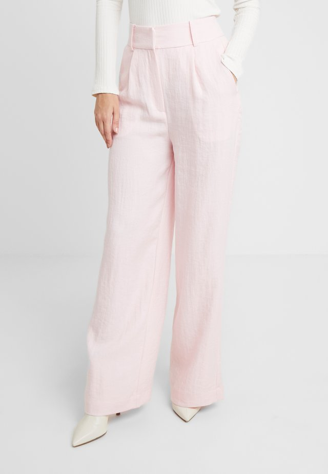 LUCY TROUSERS - Trousers - rose