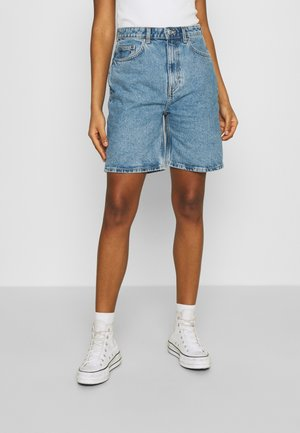 DANDY - Shorts di jeans - hanson blue