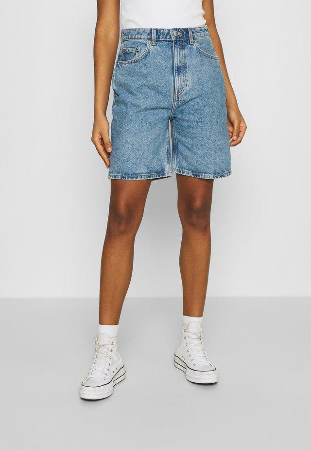 DANDY - Shorts di jeans - hanson blue
