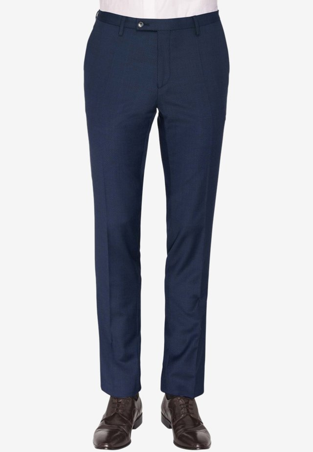 ARCHIEBALD - Suit trousers - blue