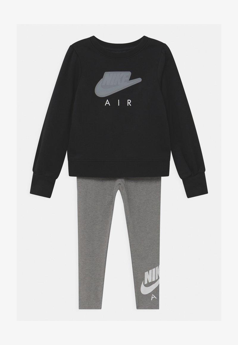 Nike Sportswear - AIR SET - Tepláková souprava - carbon heather