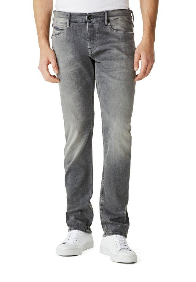 Slim fit jeans - denim mid grey wash