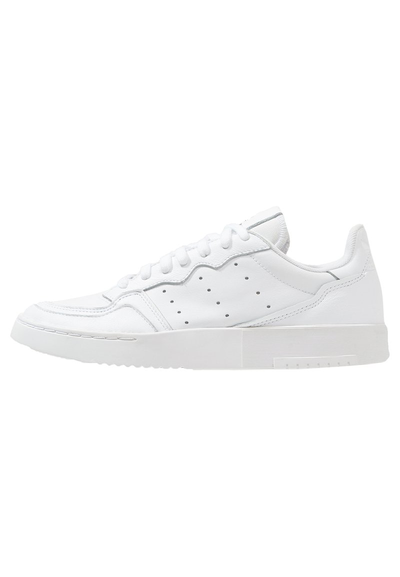 adidas Originals - SUPERCOURT - Matalavartiset tennarit - ftwwht/ftwwht/cblack