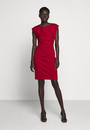 MISTRETCH - Shift dress - moon red