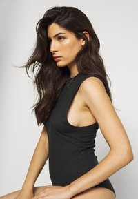 Free People - MUSCLE BEACH BODYSUIT - Body - black - 3