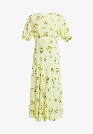 DECORA DRESS - Maxikjole - yellow breeze