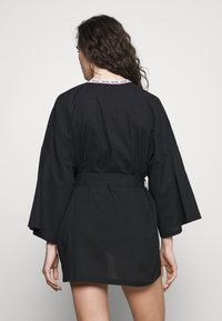 Moschino Underwear - NIGHT GOWN - Badjas - black - 2
