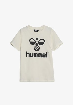 HMLTRES - T-shirt print - whisper white