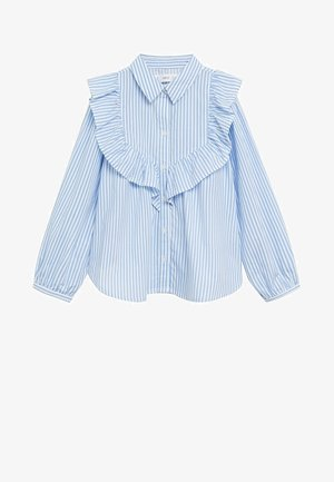 JANE - Button-down blouse - niebieski