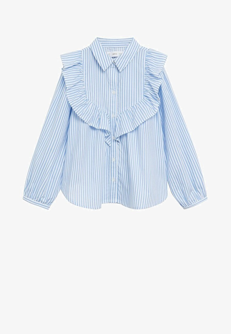 Mango - JANE - Button-down blouse - niebieski