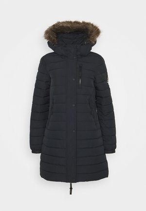 SUPER FUJI JACKET - Vinterkåpe / -frakk - eclipse navy