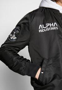 Alpha Industries - Bomber Jacket - black - 4
