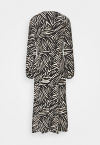 Wallis Tall - ZEBRA FINDLE MIDI DRESS - Maxi dress - black - 1