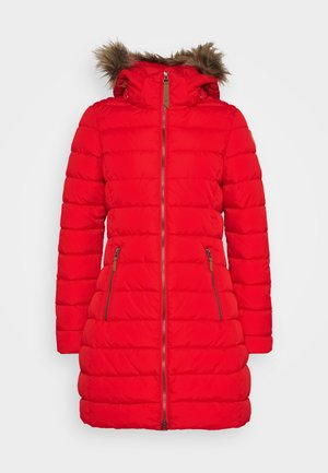 ADDISON - Down coat - red