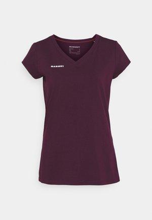 MASSONE - T-shirt con stampa - grape