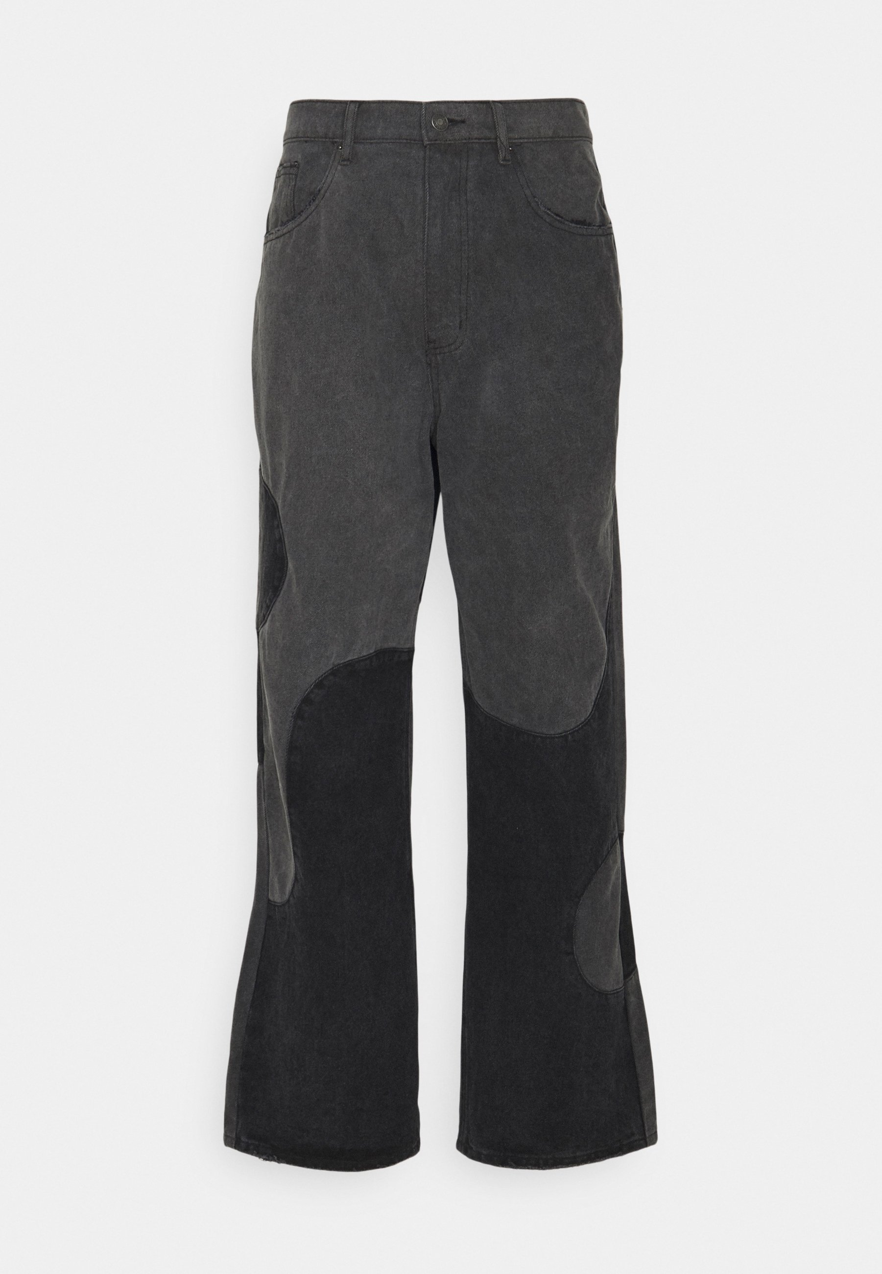 Men YIN AND YANG CUT AND SEW - Relaxed fit jeans
