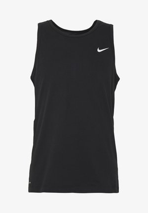 DRY TANK SOLID - T-shirt sportiva - black /white