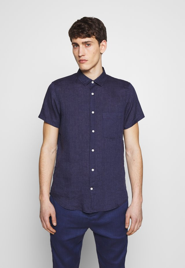 REGULAR BLOCK - Camicia - midnight blue