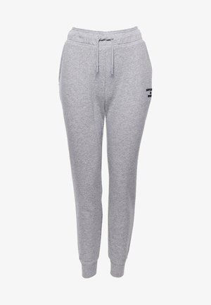 SPORT TRAINING CORE - Tracksuit bottoms - grey marl