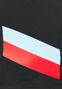 Nike Performance - STRIPE CROP TANK PLUS - Top - black/chile red - 2