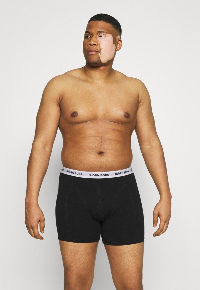 Björn Borg - SAMMY 7 PACK - Underkläder - black beauty