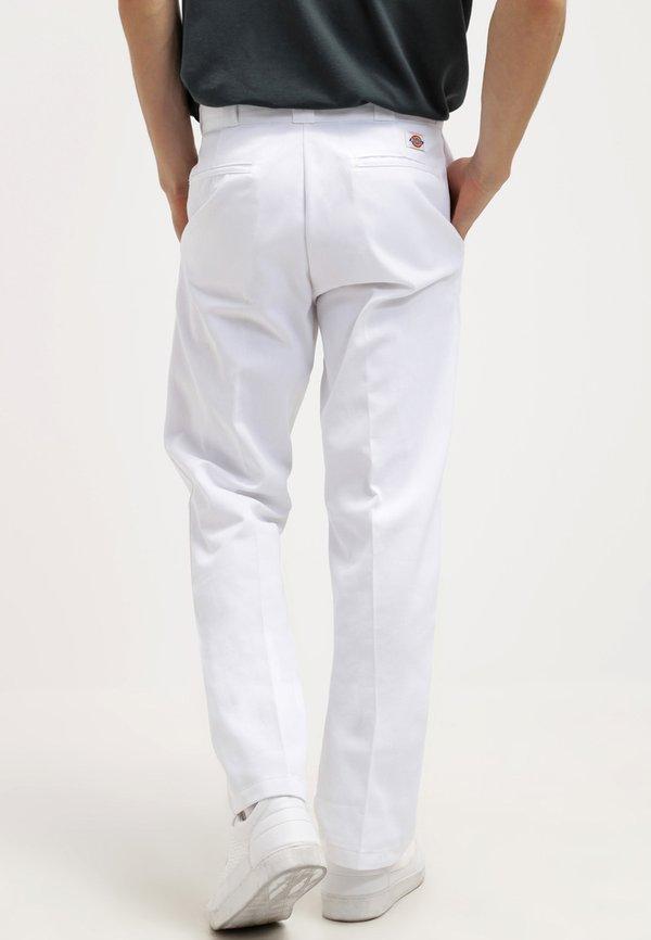 Dickies ORIGINAL 874 - Chinosy - white/biały Odzież Męska IKPK