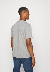 Nominal - BANKSY HOPE - T-shirt imprimé - grey marl - 2